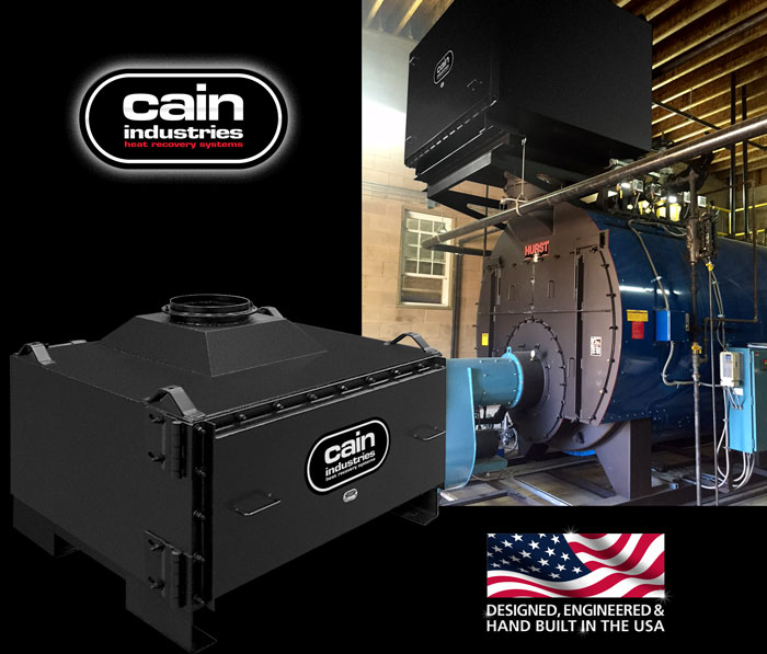 Cain Industries CXL Single Stage Condensing Boiler Economizers