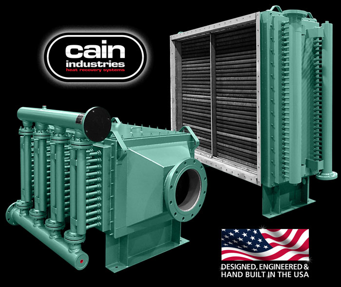 Cain Industries UTR1 (U-Tube Recovery 1) Fume Incineration