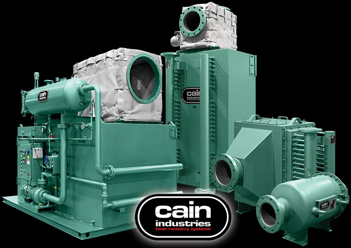 Cain Industries Cogeneration Exhaust Heat Transfer