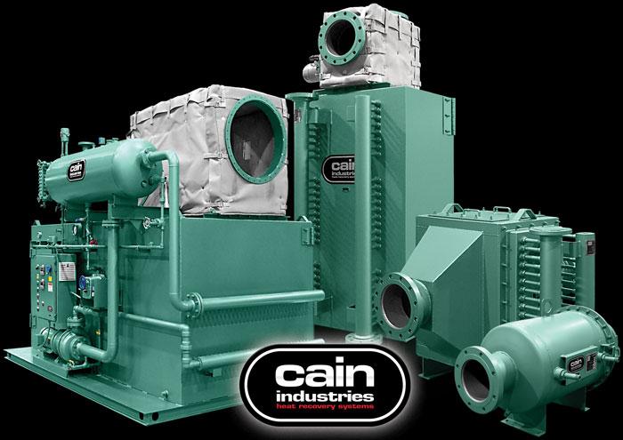 Cain Industries Cogeneration Exhaust Heat Transfer