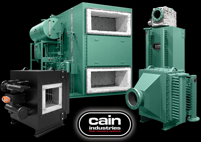 Cain Industries Fume Incineration Exhaust Heat Transfer
