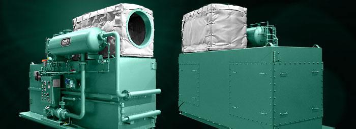 Engine Cogeneration Exhaust Steam Generators